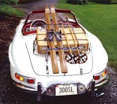 voiture de skie de luxe